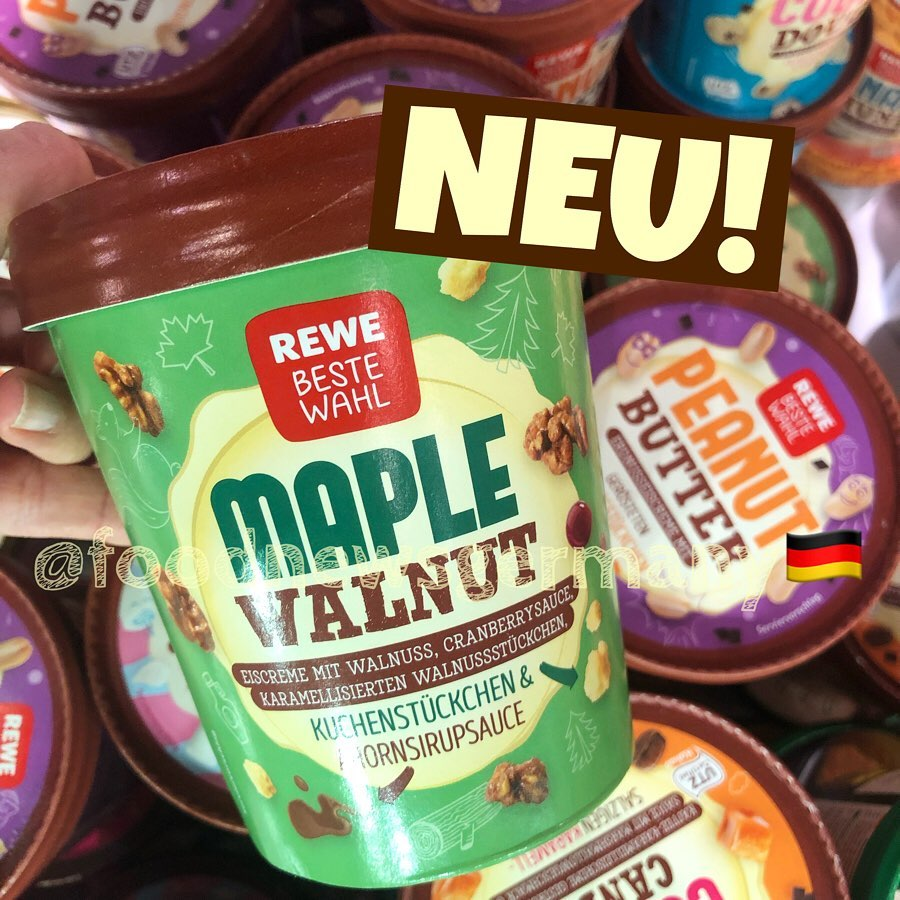Rewe Beste Wahl Eis Maple Walnut