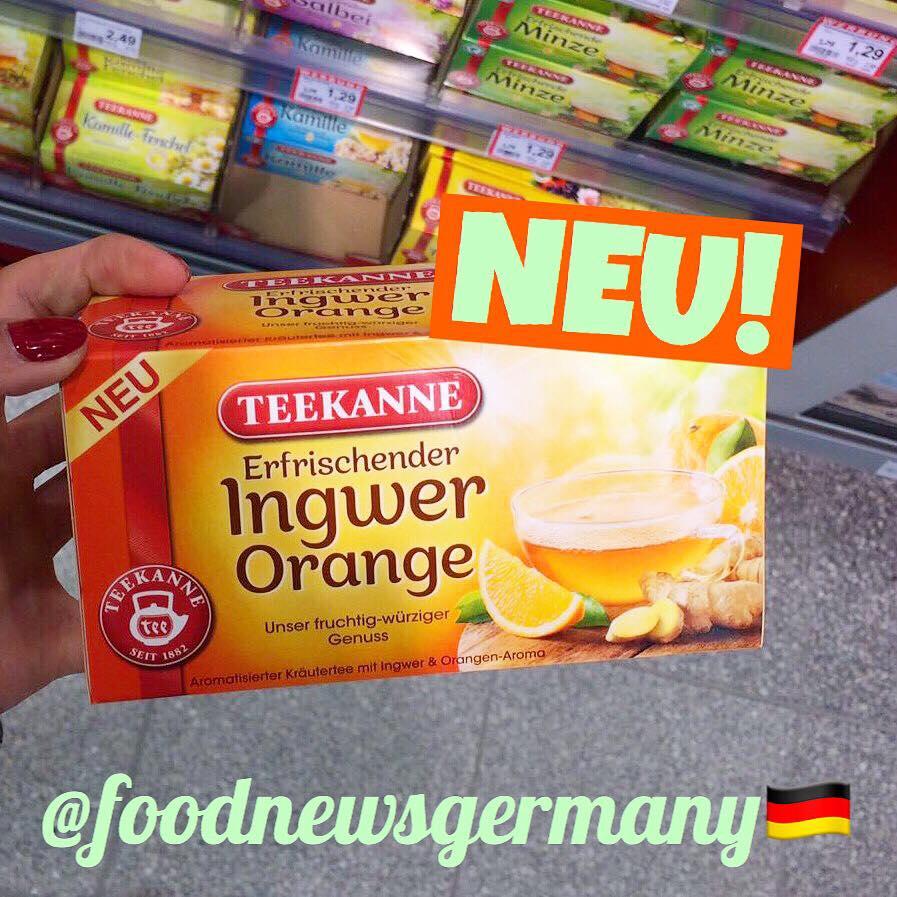 Teekanne Ingwer Orange