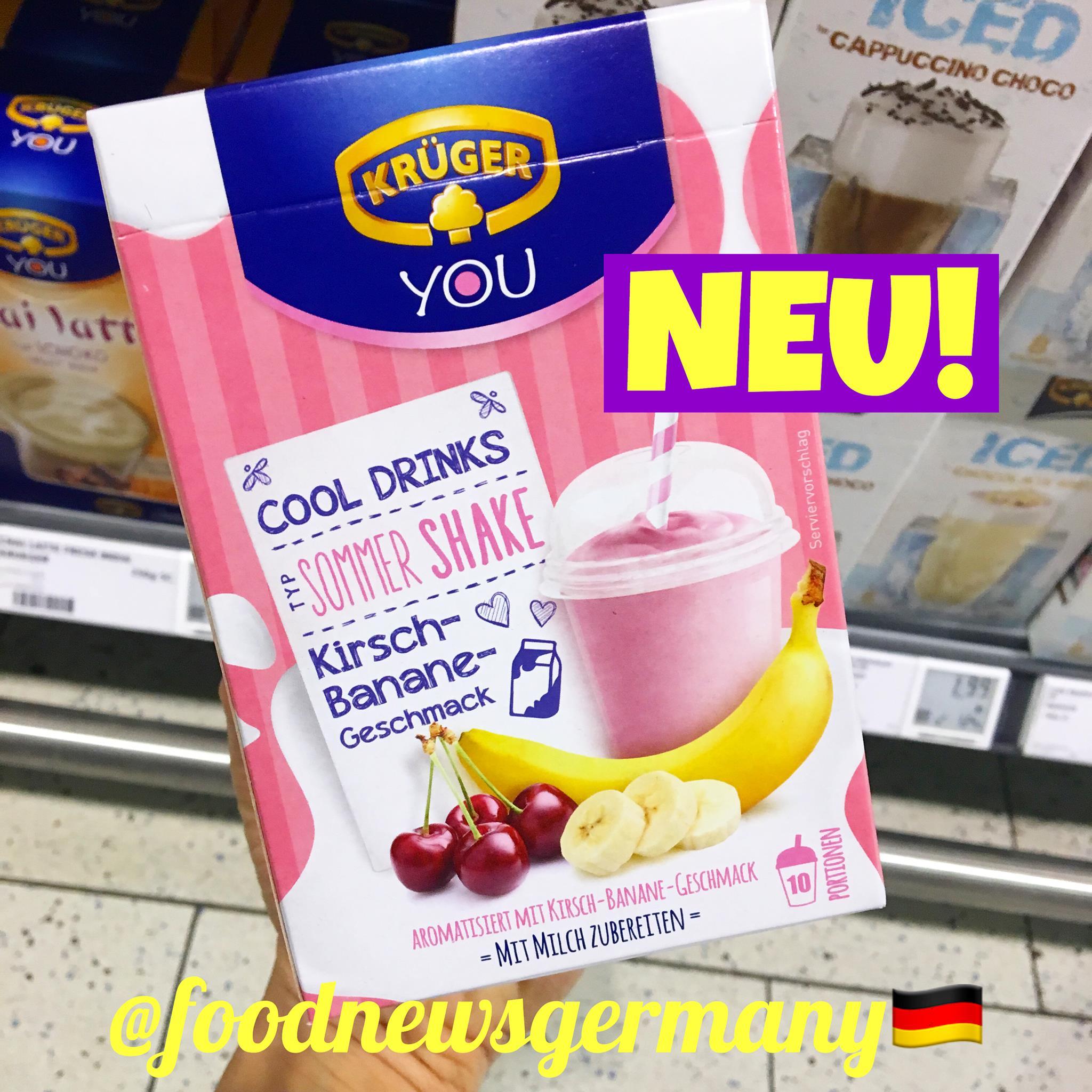 Krüger You Cool Drinks Kirsch-Banane Geschmack