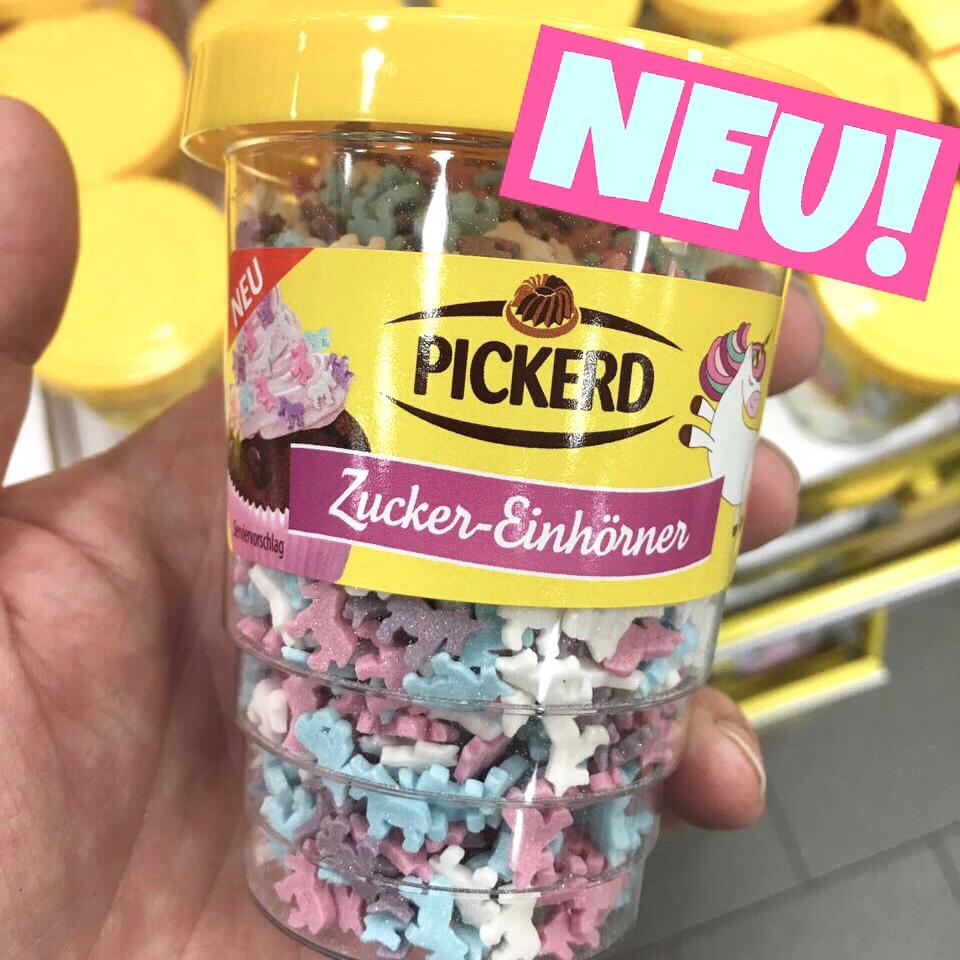 Pickerd Einhorn Streusel
