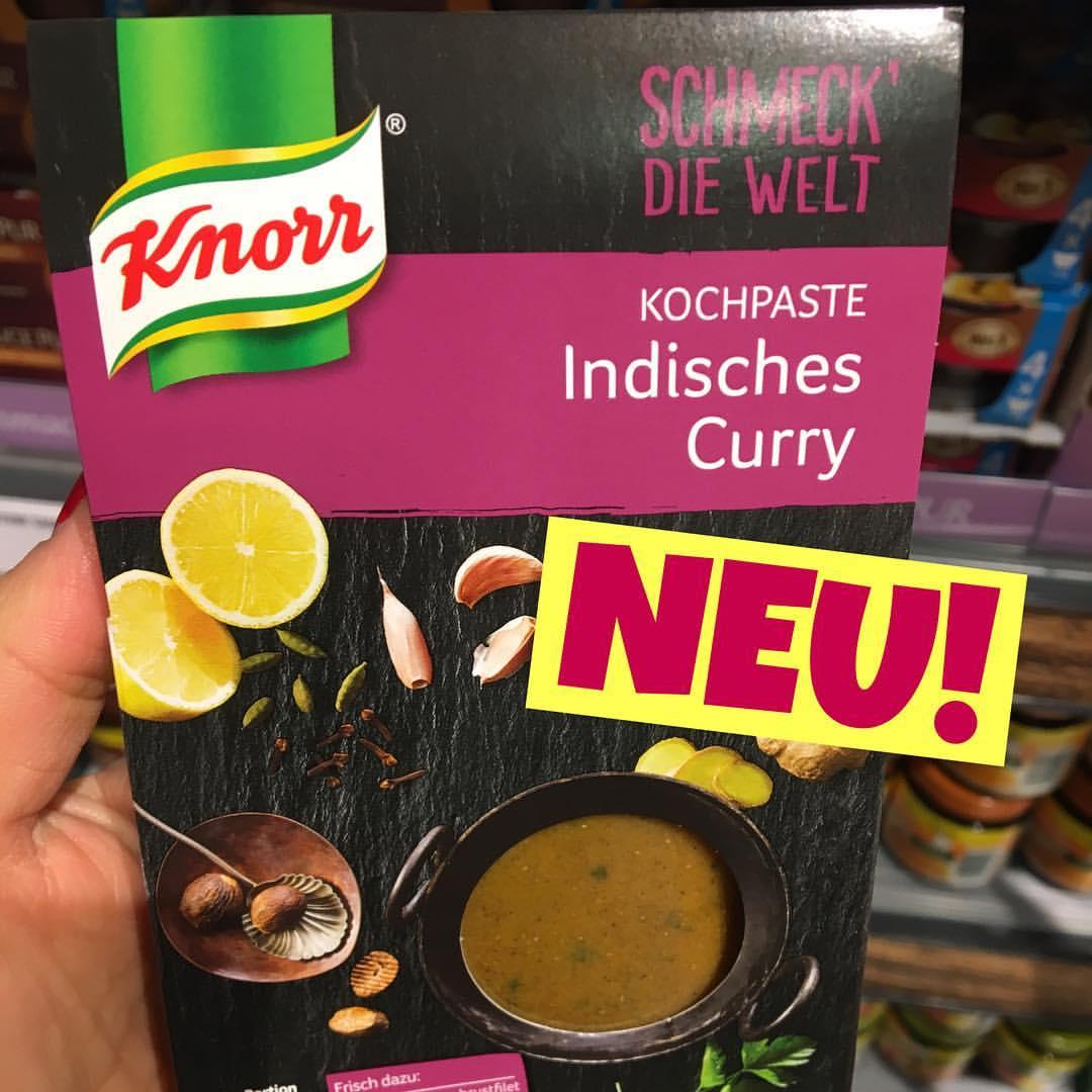 Knorr schmeck die Welt Indisches Thai Curry