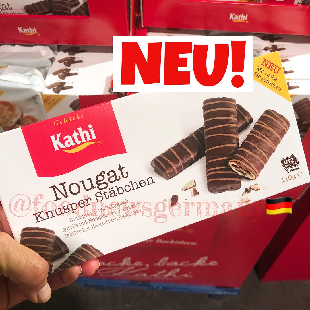 Kathi Nougat Knusper Stäbchen