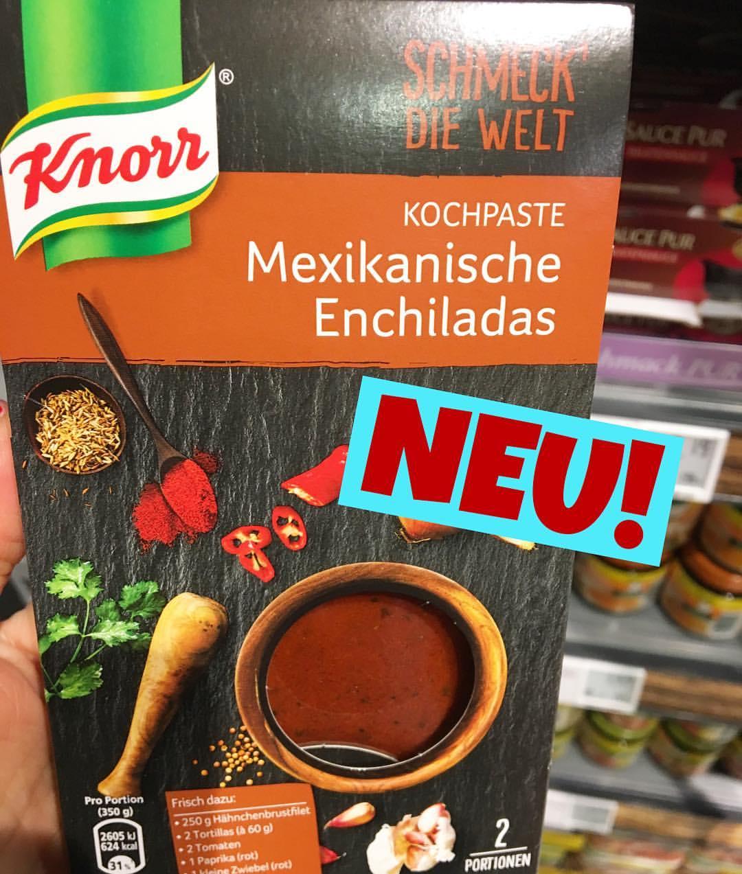 Knorr schmeck die Welt Mexikanische Enchiladas Kochpaste