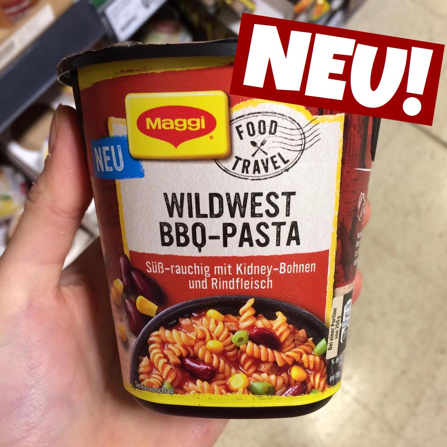 Maggi Wildwest BBQ Pasta