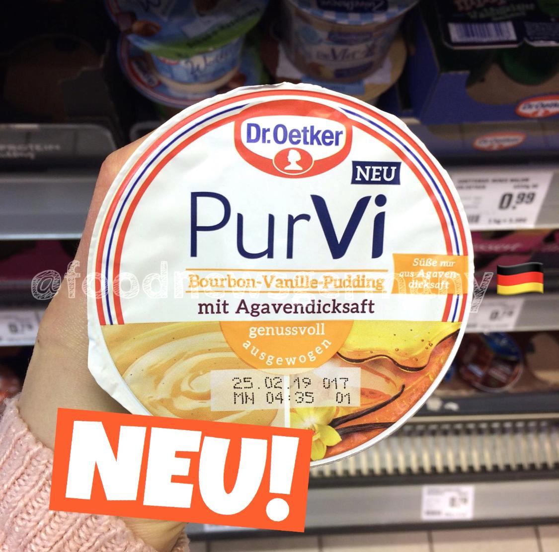Dr. Oetker PurVi Bourbon Vanille-Pudding