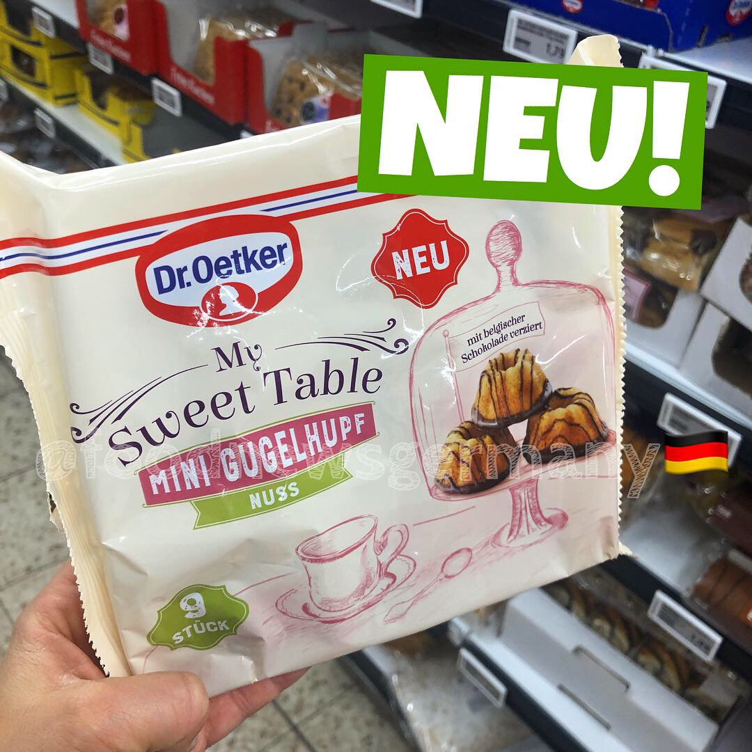 "Dr. Oetker ""My Sweet Table"" Mini Gugelhupf Nuss"