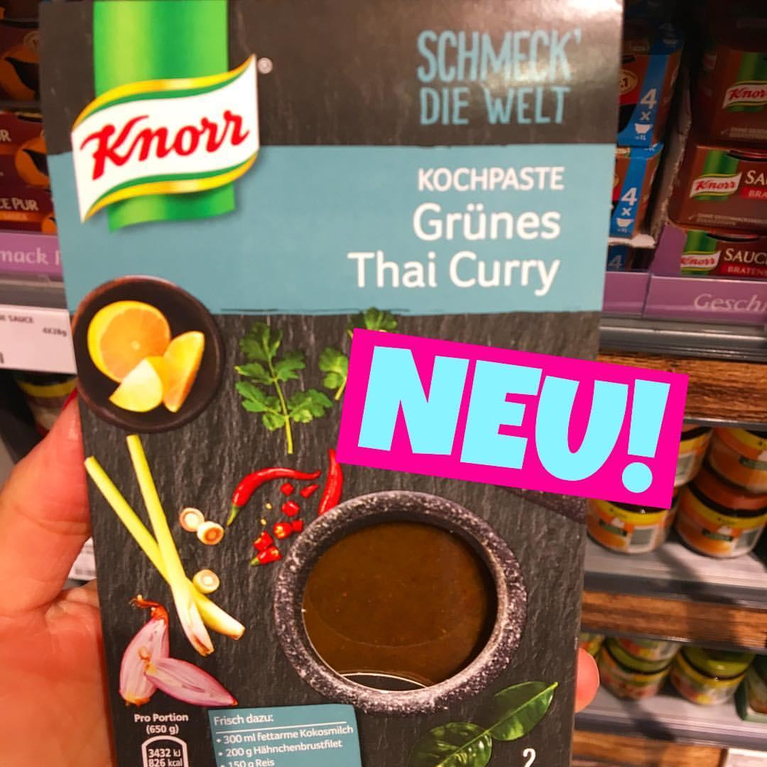 Knorr schmeck die Welt Grünes Thai Curry Kochpaste