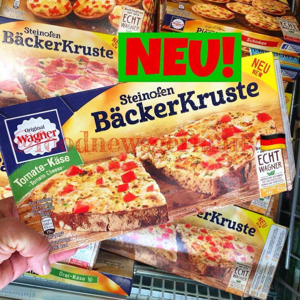 Original Wagner Steinofen Bäckerkruste Tomaten-Käse