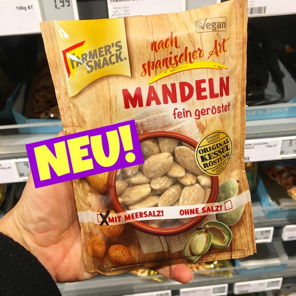 FARMER'S SNACK MANDELN mit Meersalz