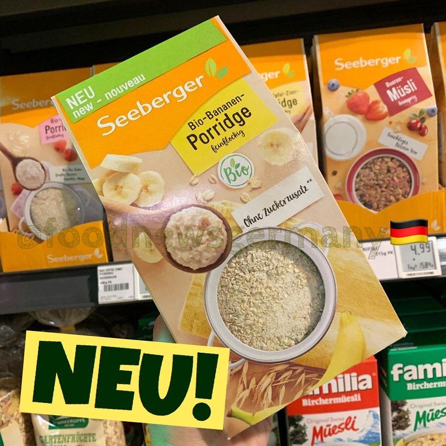 Seeberger Bio-Bananen Porridge