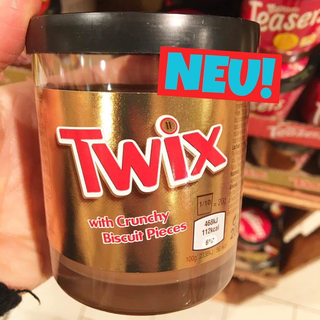 Twix Brotaufstrich
