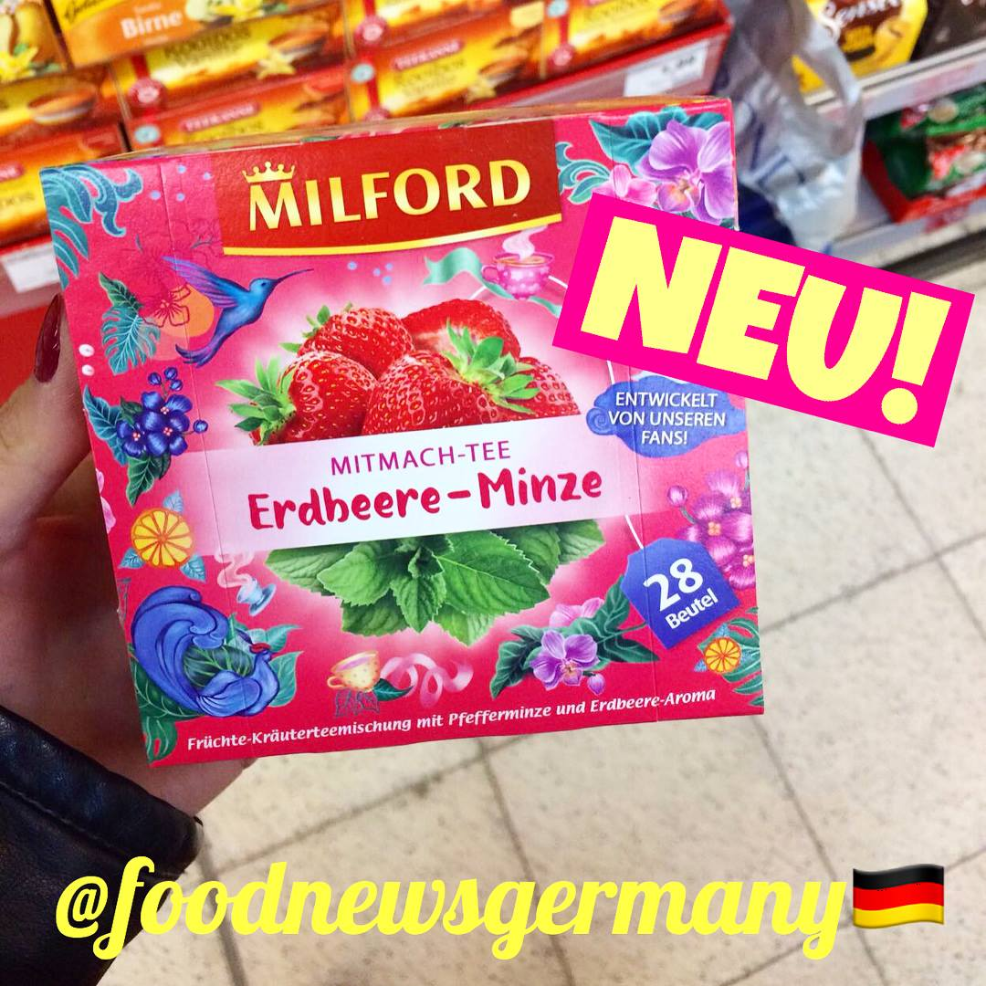 Milford Erdbeere-Minze