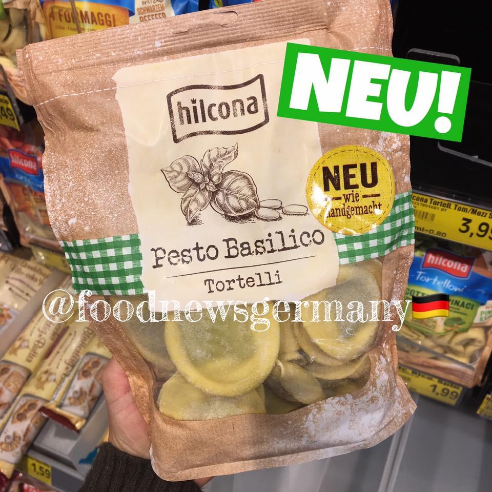Hilcona Tortelli Pesto Basilico wie handgemacht
