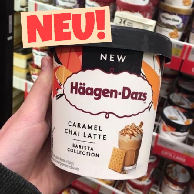 Häagen Dazs Caramel Chai Latte