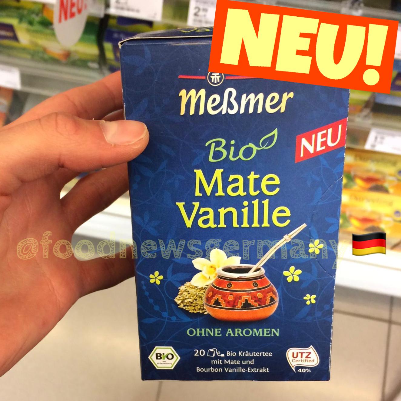 Meßmer Bio Tee Mate Vanille