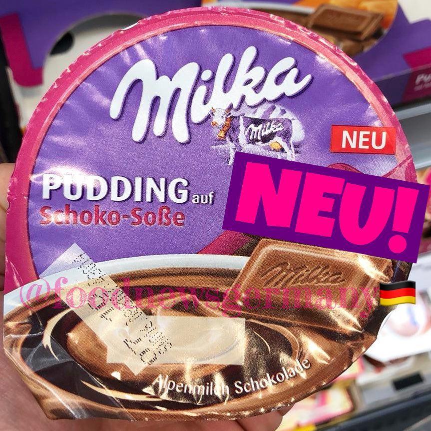 Milka Pudding Schoko-Soße