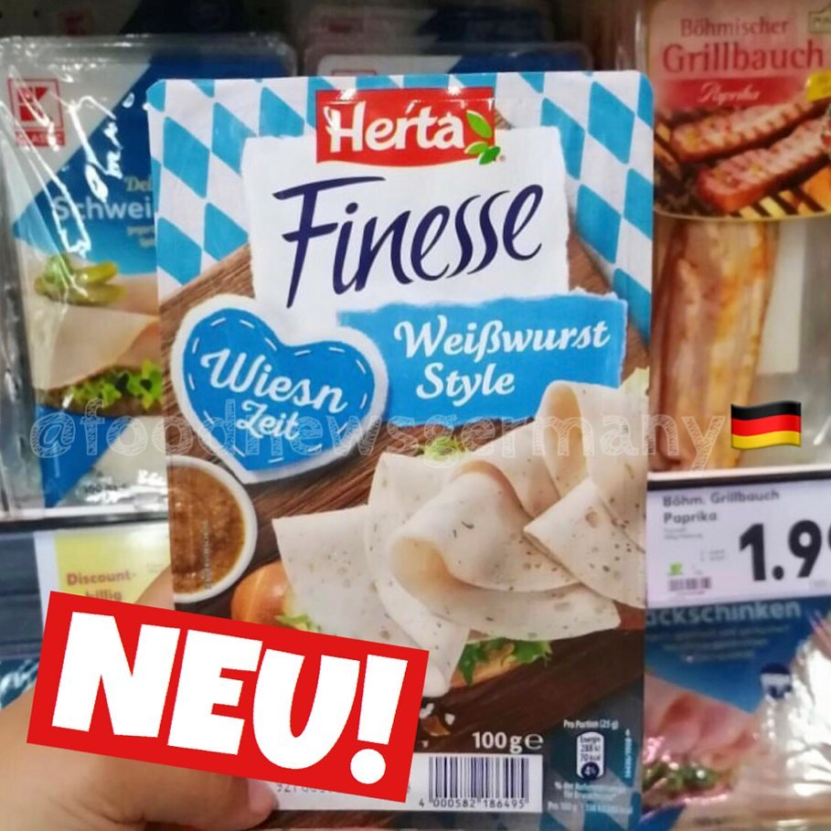 Herta Finesse Weißwurst Style