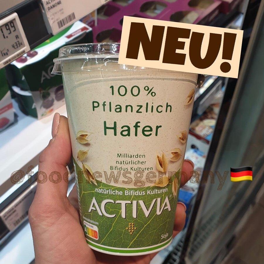 Activia 100% Pflanzlich Pfirsich