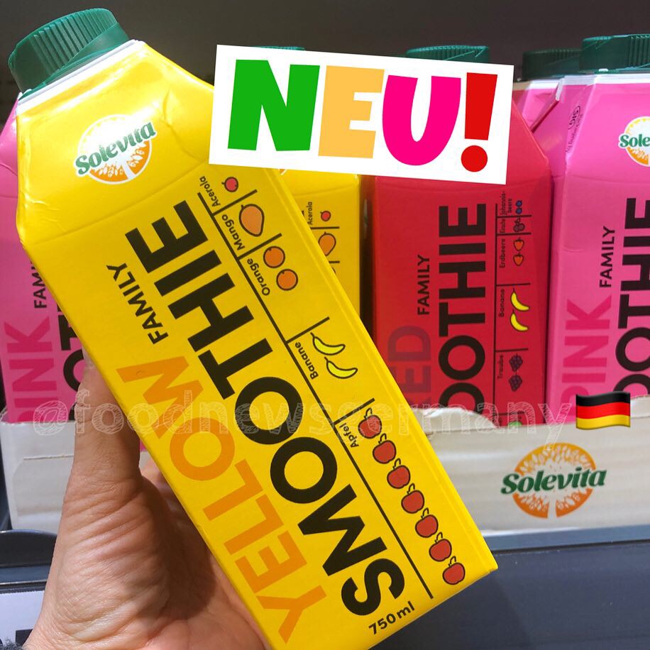 Lidl Solevita Yellow Smoothie