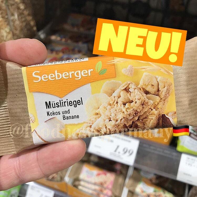 SEEBERGER MÜSLIRIEGEL
