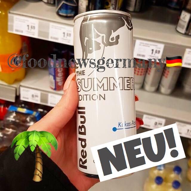Red Bull Kokos Blaubeere Sommer Edition