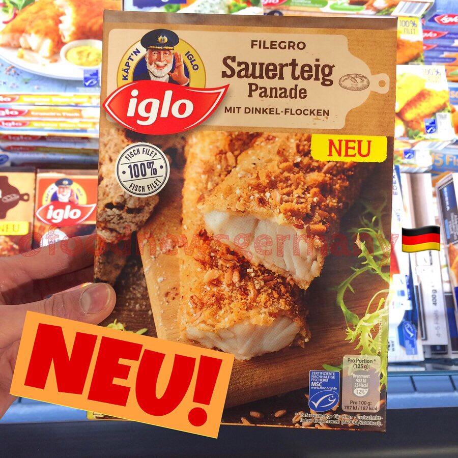 Iglo Filegro Sauerteig Panade