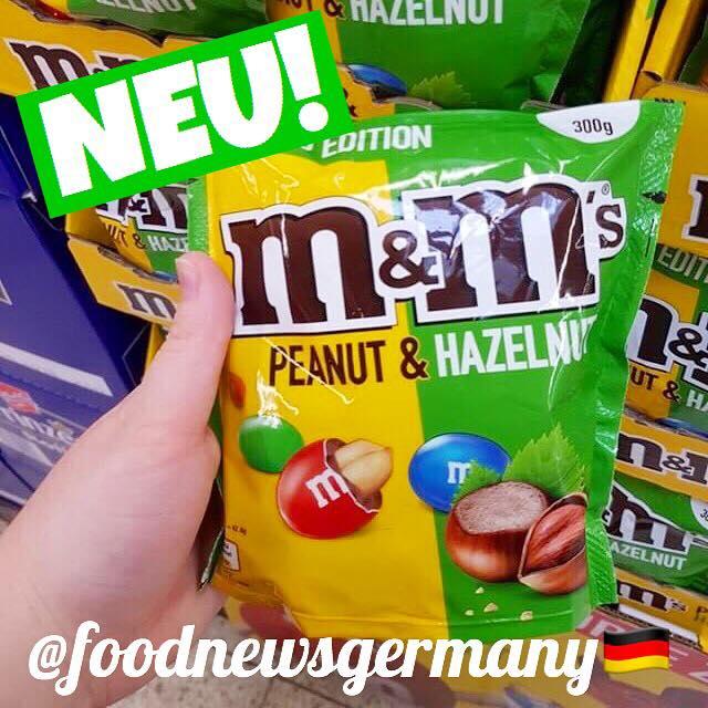 m & m's Peanut Hazelnut