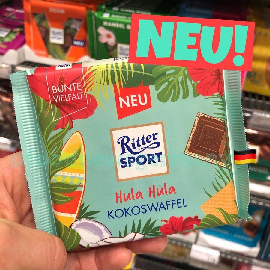 Ritter Sport Fernweh Edition Kokoswaffel