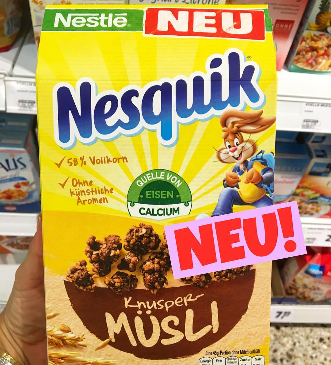 Nestle Nesquik Knusper Müsli