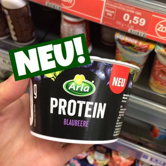 Arla Protein Quakr Blaubeere