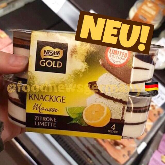 Nestle Gold Mousse Zitrone-Limette