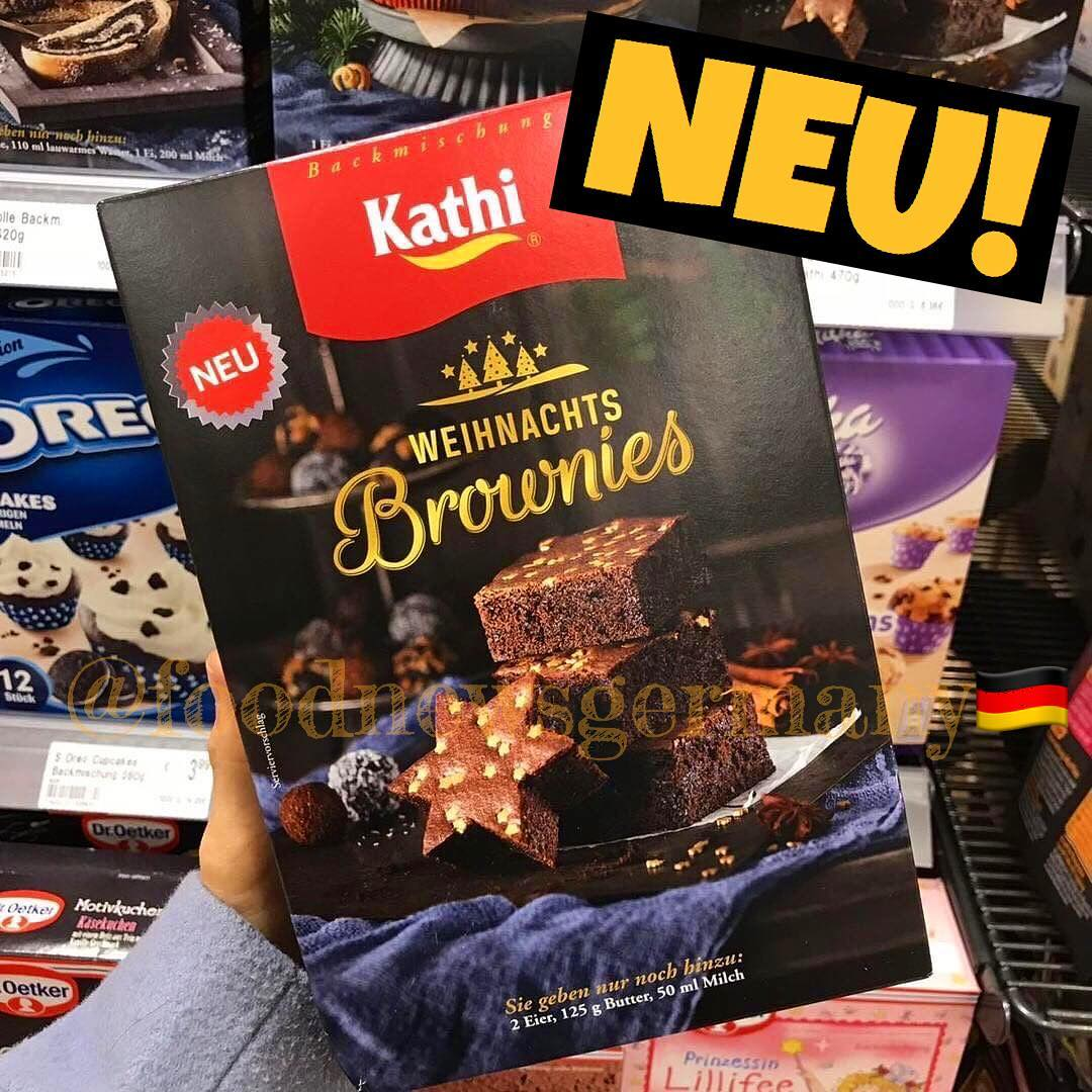 KATHI WEIHNACHTS BROWNIES