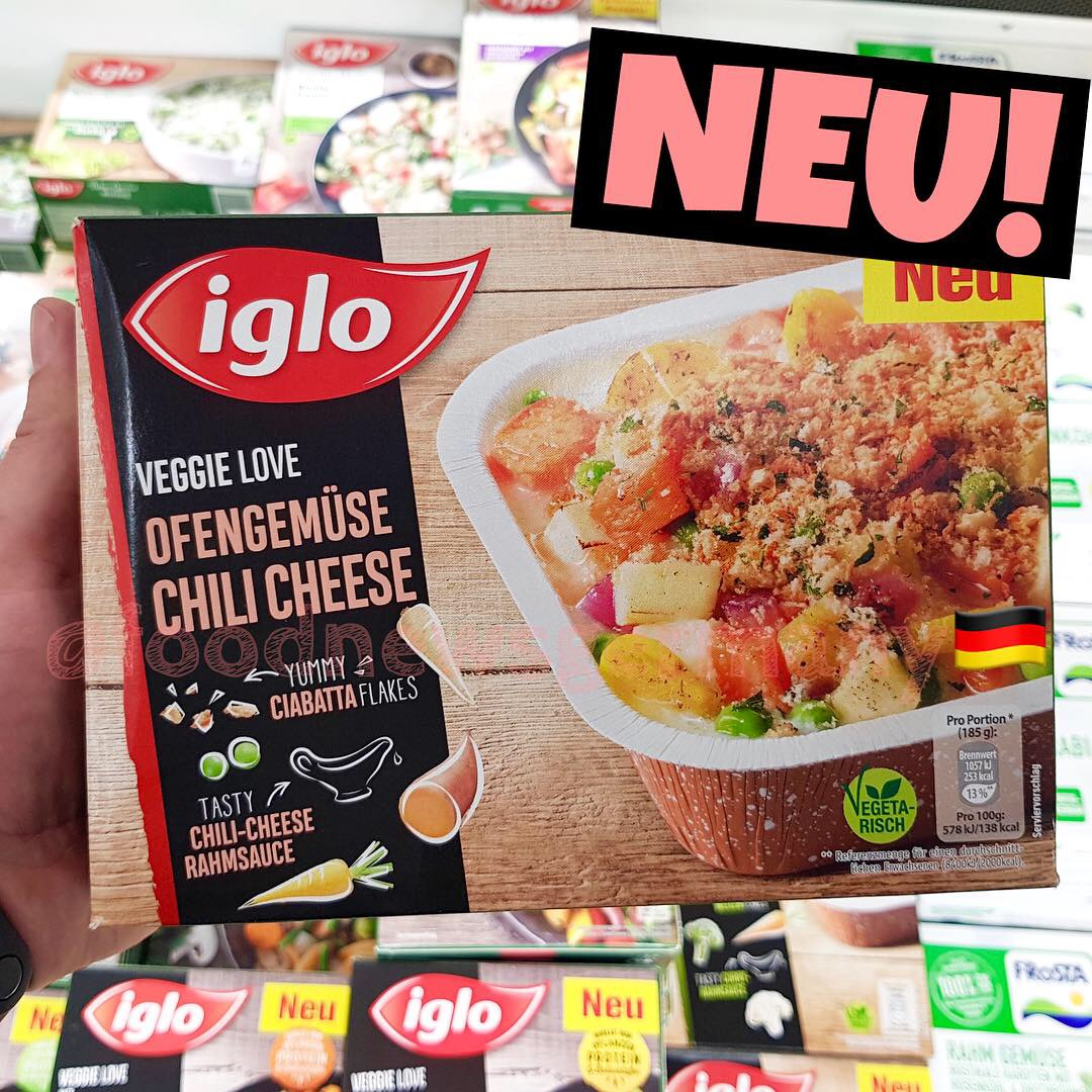 Iglo Ofengemüse Chili Cheese