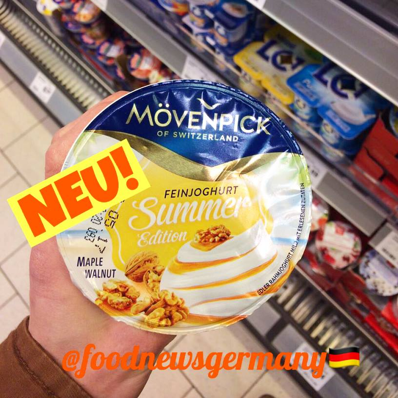 Mövenpick Joghurt Summer Edition Maple Walnut