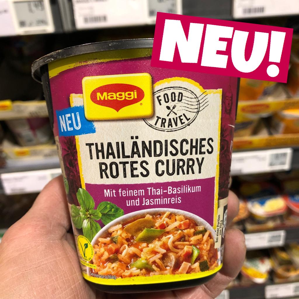 Maggi Thailändisches Rotes Curry