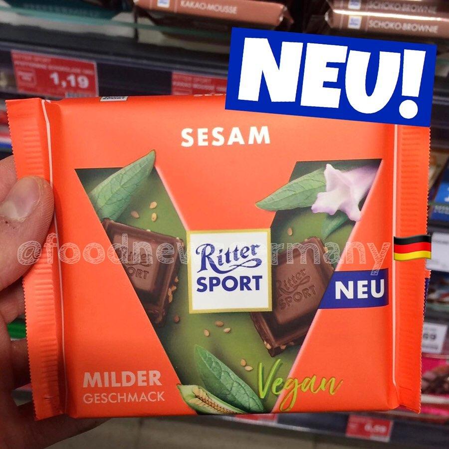 Ritter Sport Sesam Vegan