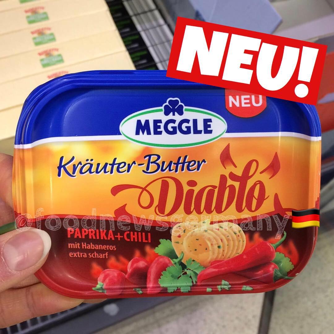 Meggle Kräuter Butter Diabolo