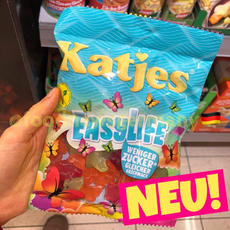 Katjes Easylife weniger Zucker