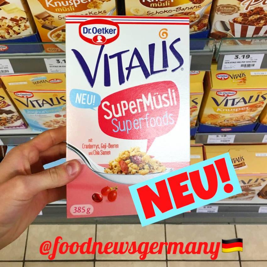 Dr.Oetker Vitalis SuperMüsli Superfoods