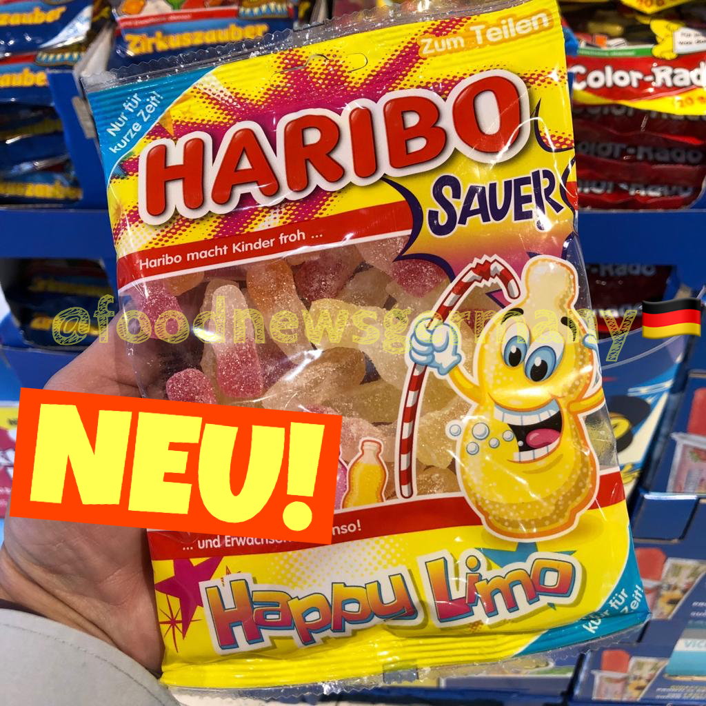 Haribo Happy Limo