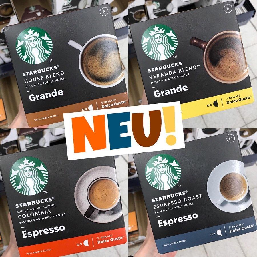 Starbucks Espresso & Grande Dolce Gusto