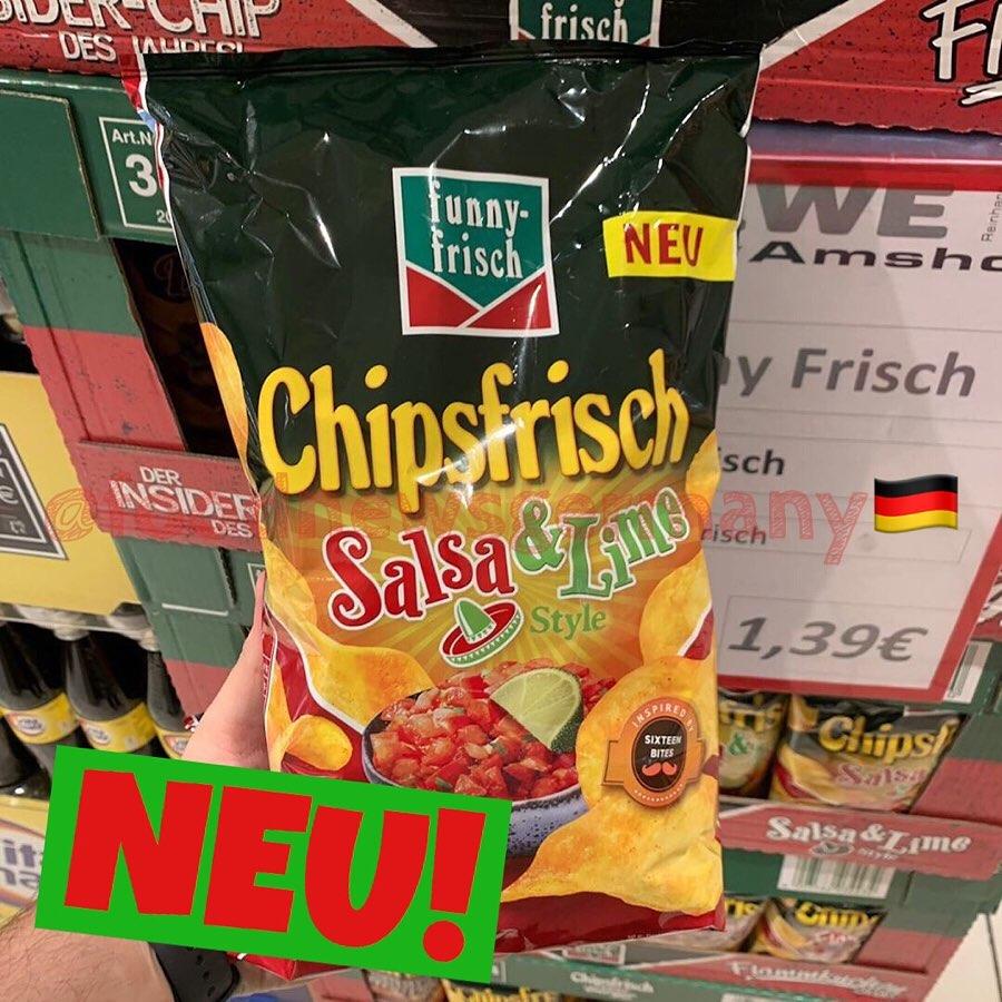 funny frisch Chipsfrisch Salsa & Lime