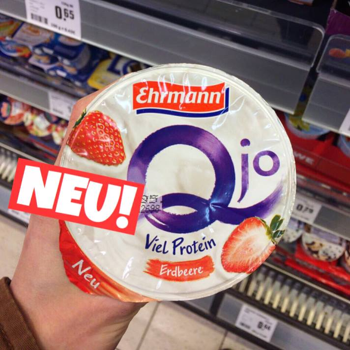 Ehrmann Qjo Erdbeere