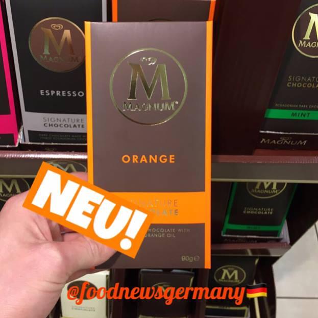 Magnum M Tafelschokolade Orange