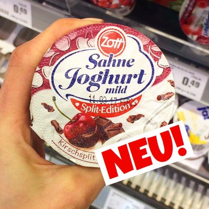 Zott Sahnejoghurt Kirsch-Split