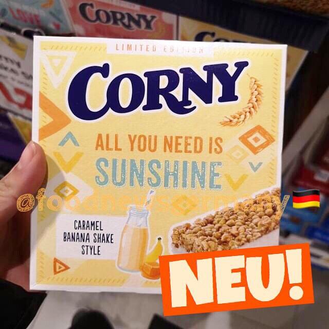 Corny Caramel Banana Shake Style