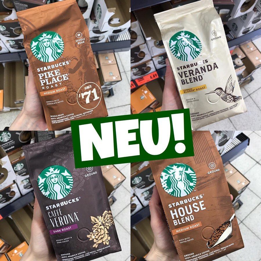 Starbucks Kaffeebohnen