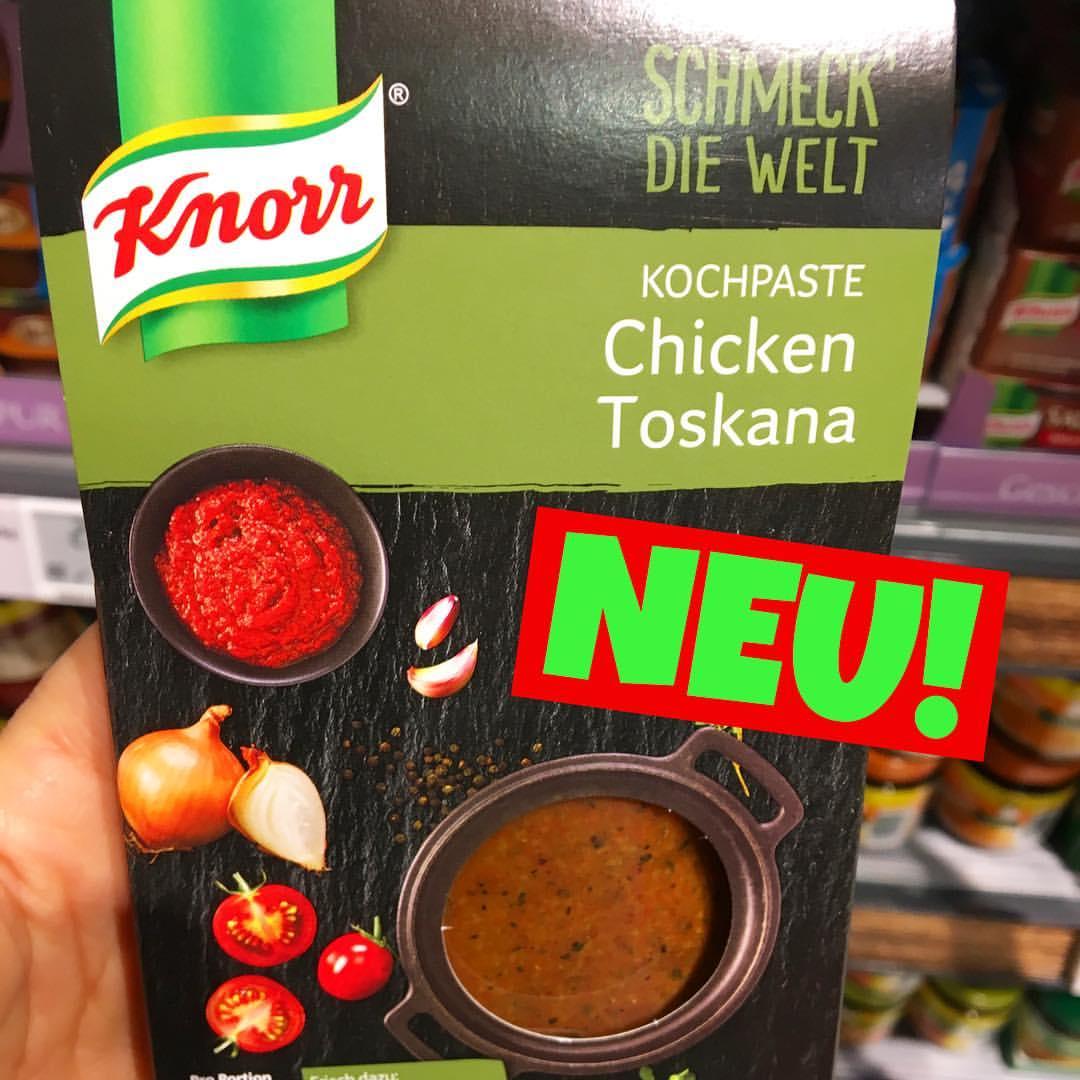 Knorr schmeck die Welt Chicen Toskana