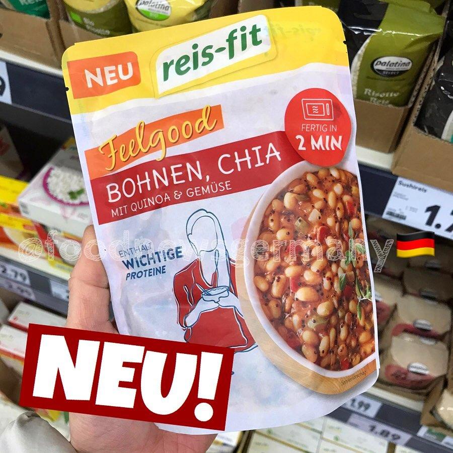 Reis-Fit Feelgood Bohnen Chia