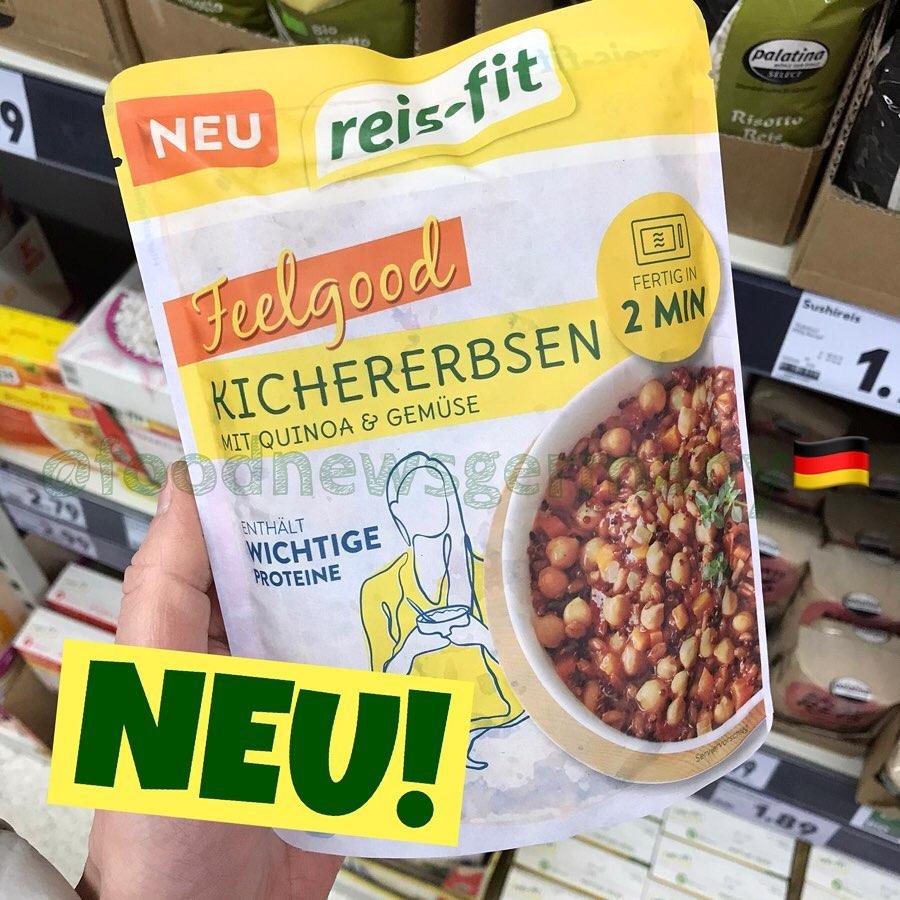 Reis-Fit Feelgood Kichererbsen